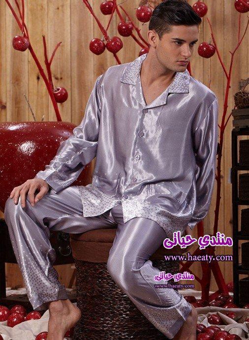 Silk-Pajamas-for-men-Silk-Sleepwear-for-men-Men-s-sleep-2014set-Long-Sleeve-Top-Pant